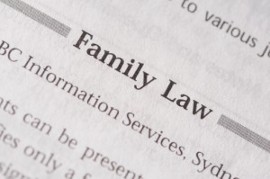 We can collect information about a variety of different family law situations